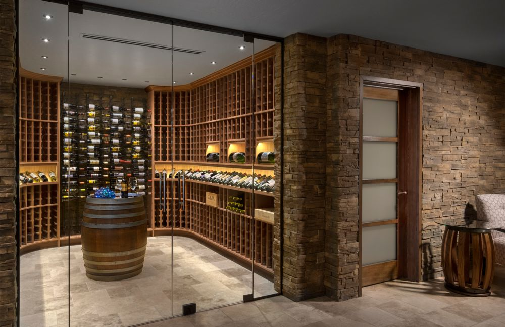 Home wine cellar experts for Wine cellar in house